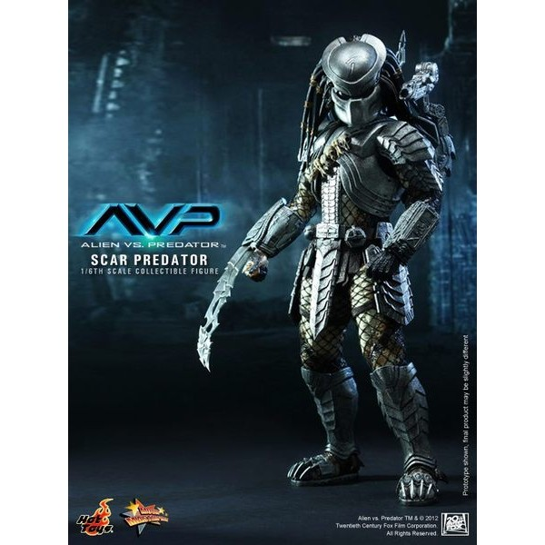 Hot Toys Predador Scar  - Movie Freaks Collectibles