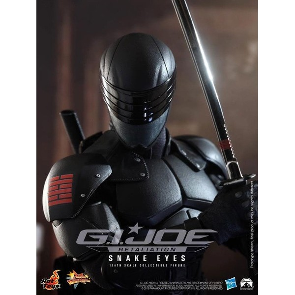 Hot Toys Snake Eyes  - Movie Freaks Collectibles