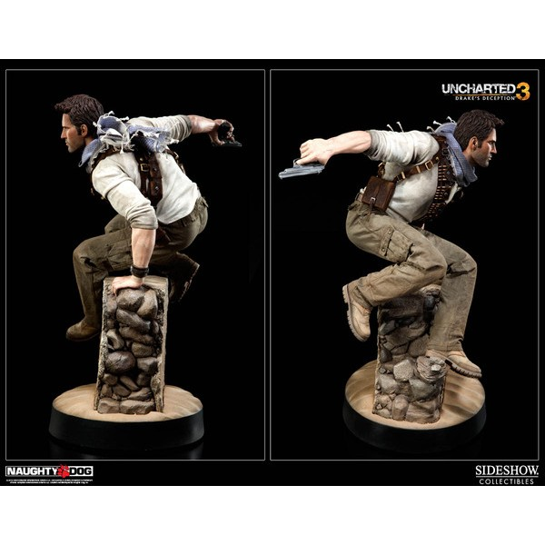 Sideshow Collectibles Uncharted 3 Drake´s Deception Nathan Drake Premium Format Figure  - Movie Freaks Collectibles