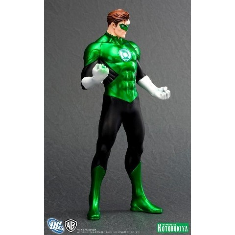 Kotobukiya DC Comics New 52 Lanterna Verde ARTFX+ Statue  - Movie Freaks Collectibles