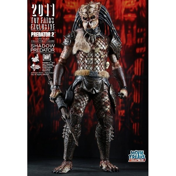Hot Toys Shadow Predator  Predador Shadow  - Movie Freaks Collectibles