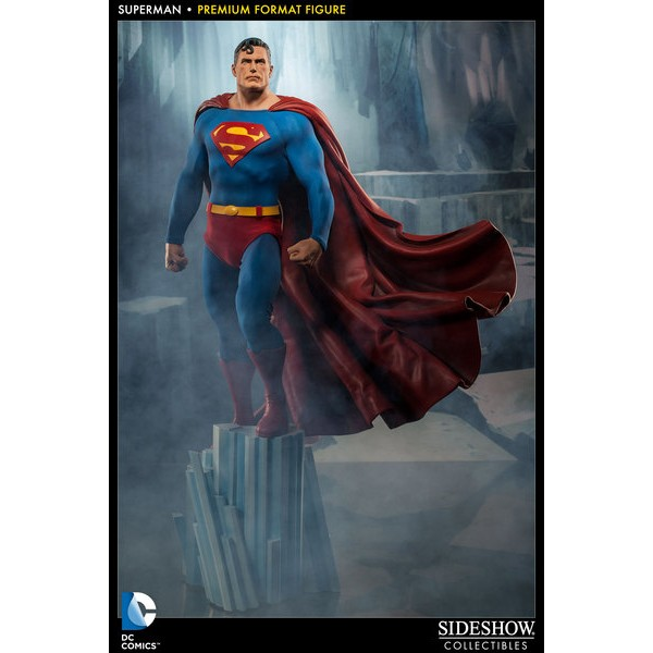 Sideshow Super Homem Premium Format  - Movie Freaks Collectibles