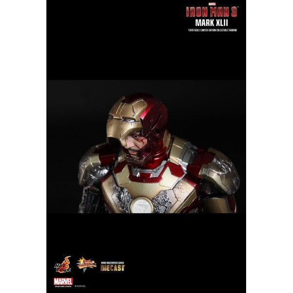 Hot Toys Homem de Ferro Mark XLII - Homem de Ferro 3 Die Cast  - Movie Freaks Collectibles
