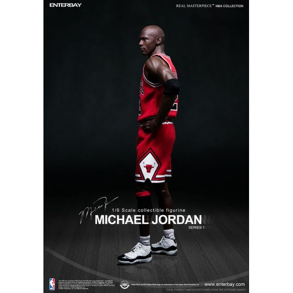 Enterbay NBA Michael Jordan #23 Road Edition 1/6  - Movie Freaks Collectibles