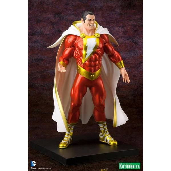 Kotobukiya DC Comics New 52 Shazam ARTFX+ Statue  - Movie Freaks Collectibles