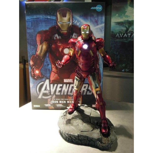 Kotobukiya Homem De Ferro 1/6 Mark VII 7 Artfx Statue - Movie Freaks Collectibles