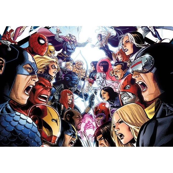 Os Vingadores VS X-MEN - Original Em Ingles!  - Movie Freaks Collectibles