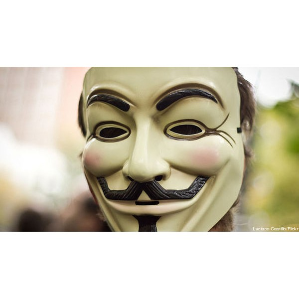 Máscara V for Vendetta - Anonymous - Guy Fawkes Mask - Official Warner´s Licensed - Movie Freaks Collectibles