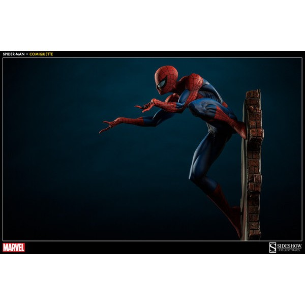 Sideshow Homem Aranha Comiquette 1/5 J. Scott Campbell Spider-Man Collection  - Movie Freaks Collectibles