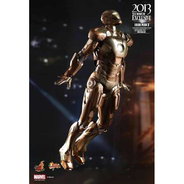 Hot Toys Homem de Ferro Mark XXI MIDAS  - Movie Freaks Collectibles