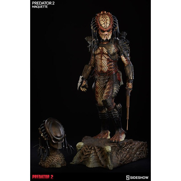 Sideshow Predador 2 Maquette EXclusive  - Movie Freaks Collectibles