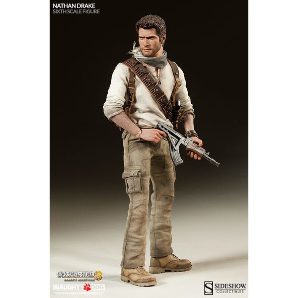 Sideshow Uncharted 3 Nathan Drake 1/6  - Movie Freaks Collectibles