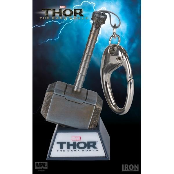 Iron Studios - Chaveiro Mjolnir - Thor : The Dark World  - Movie Freaks Collectibles