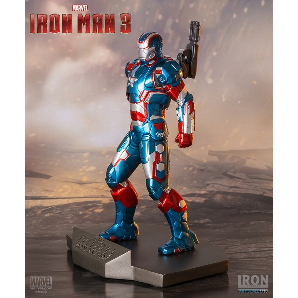 Iron Studios Iron Patriot 1/10 - Iron Man 3  - Movie Freaks Collectibles