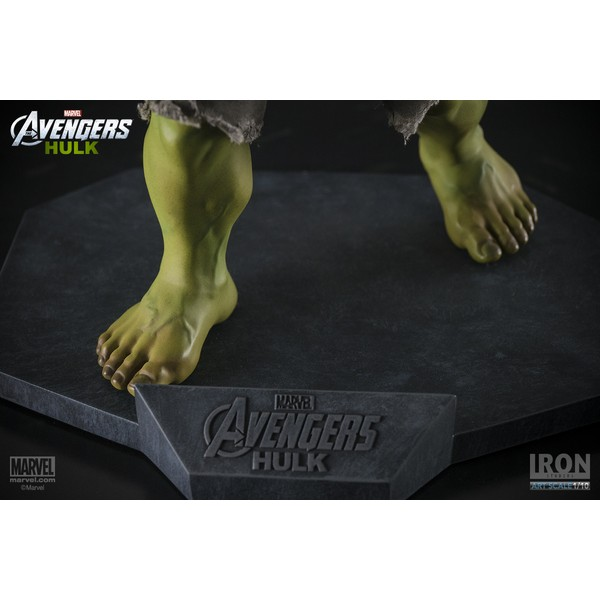 Iron Studios Iron Studios Hulk Avengers ? Art Scale 1:10  - Movie Freaks Collectibles