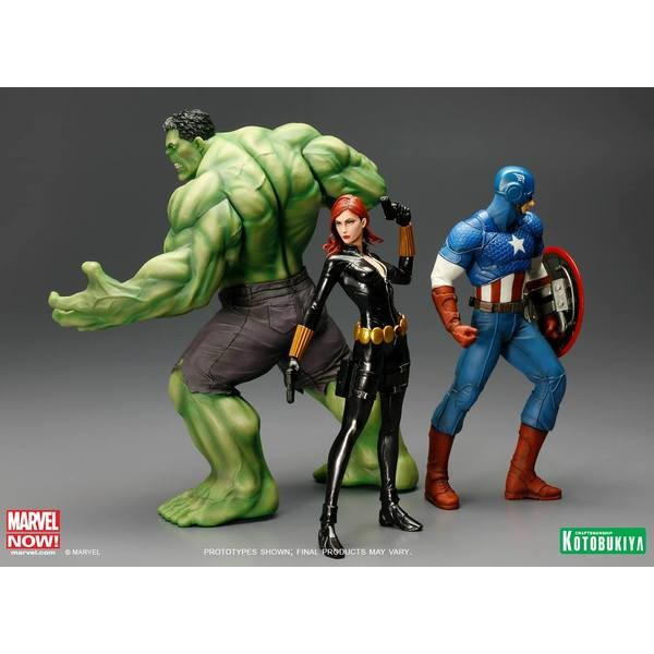 Kotobukiya Marvel Avengers Now Viúva Negra ARTFX+ PVC Statue 1/10  - Movie Freaks Collectibles