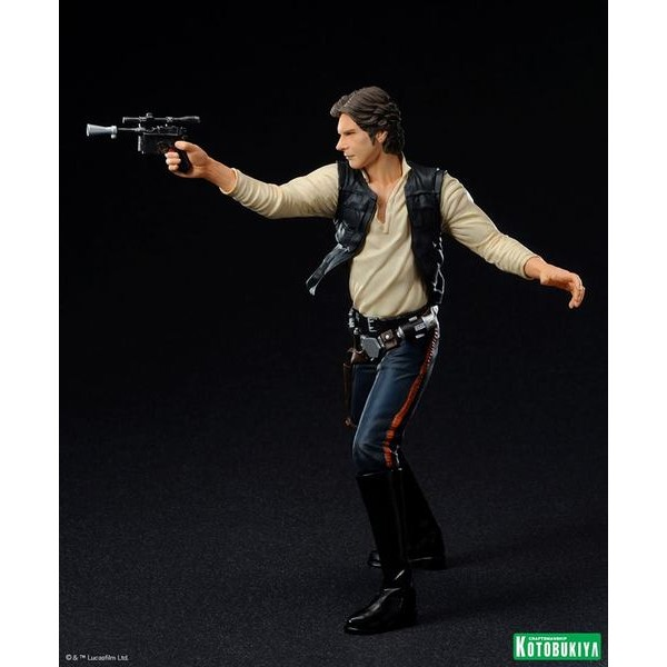 Kotobukiya Star Wars Han Solo & Chewbacca ARTFX+ Set 1/10 scale - Movie Freaks Collectibles