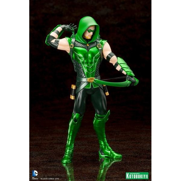 Kotobukiya DC Comics New 52 Arqueiro Verde - Green Arrow ARTFX+ Statue - Movie Freaks Collectibles