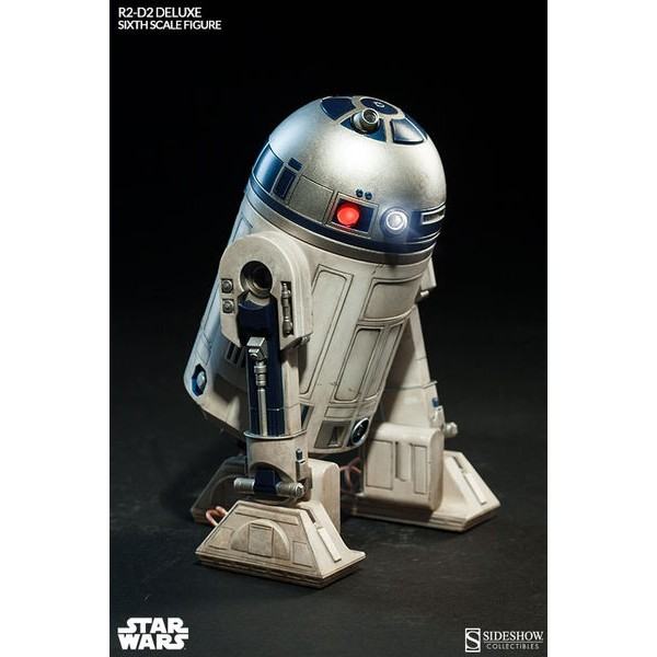Sideshow Collectibles Star Wars R2-D2 Deluxe 1/6  - Movie Freaks Collectibles