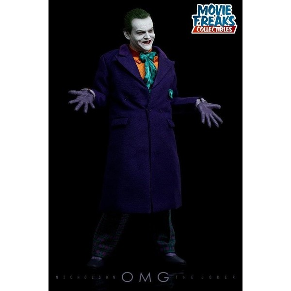 Hot Toys Joker Coringa 1989 DX08 Jack Nicholson  - Movie Freaks Collectibles