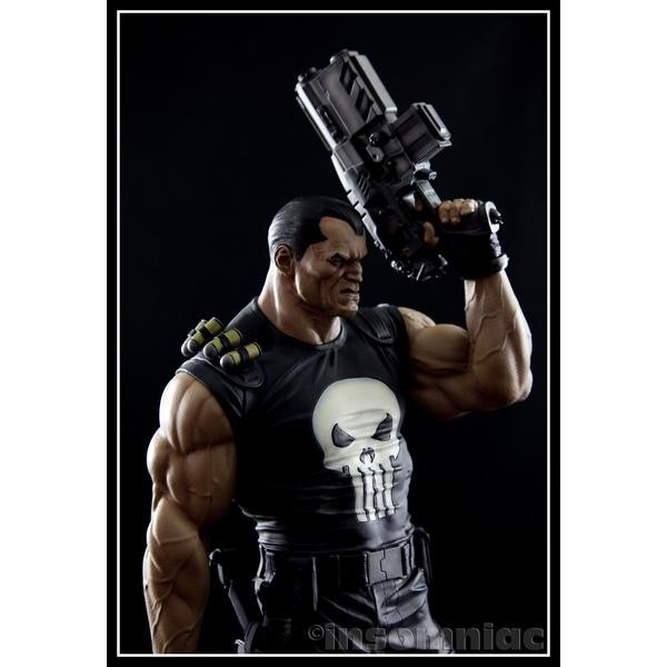 Sideshow Punisher Justiceiro Comiquette   - Movie Freaks Collectibles