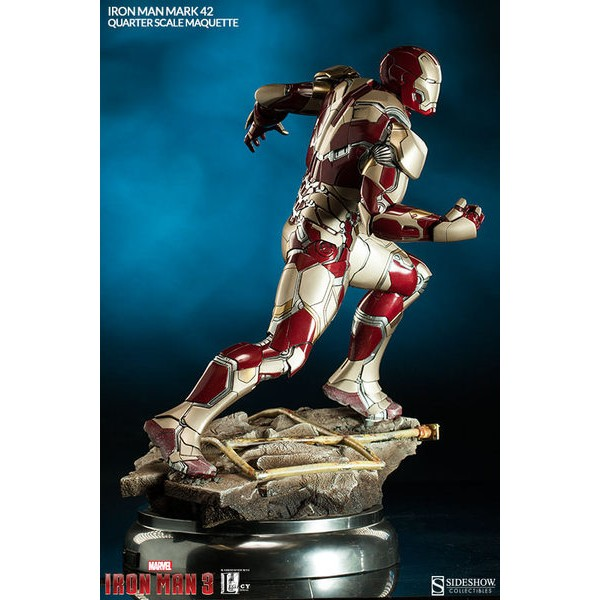 Sideshow Homem de Ferro Mark XLII Iron Man Mark 42 Maquette - Movie Freaks Collectibles