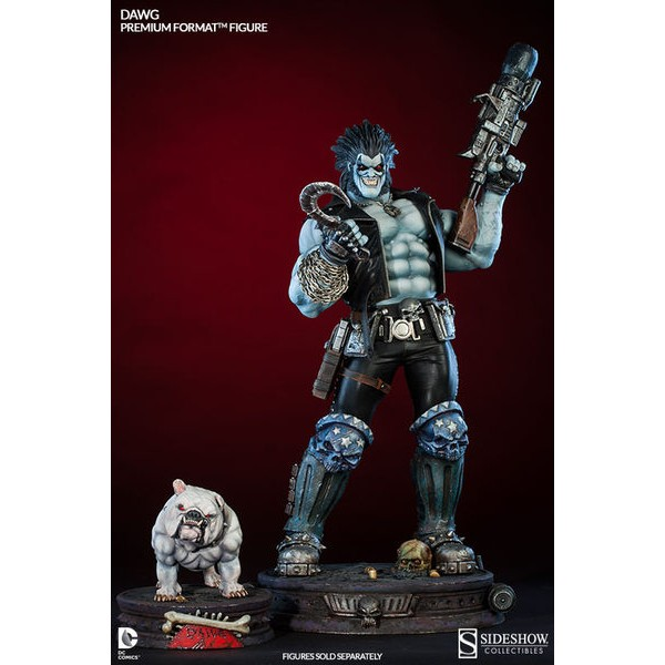 Sideshow Lobo Premium Format? + Sideshow Dawg Premium Format? Complete Pack! Valor promocional!  - Movie Freaks Collectibles