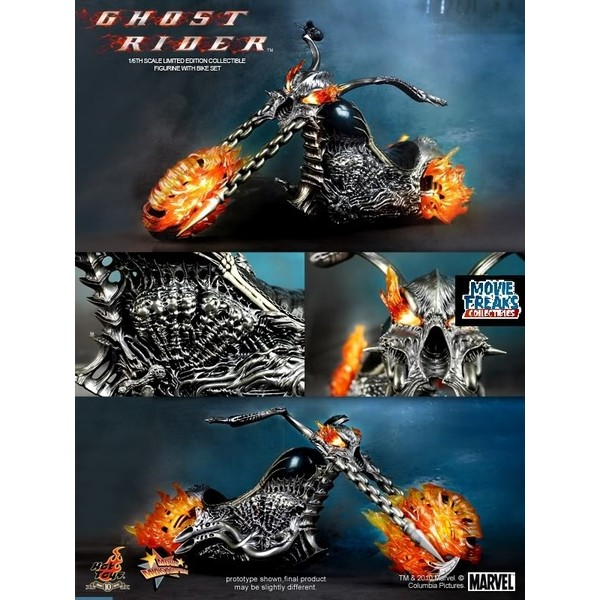Hot Toys Motoqueiro Fantasma Ghost Rider  - Movie Freaks Collectibles