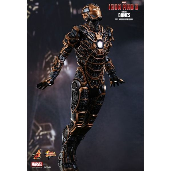 Hot Toys Homem de Ferro Mark XLI Bones  - Movie Freaks Collectibles