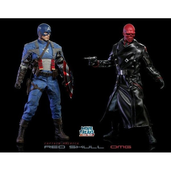 Hot Toys Caveira Vermelha  Red Skull  - Movie Freaks Collectibles