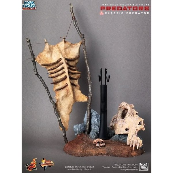 HOT TOYS  Classic Predator  Predador Clássico Sideshow Predators/2010  - Movie Freaks Collectibles