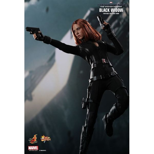 Hot Toys Viúva Negra - Captain America 2 The Winter Soldier  - Movie Freaks Collectibles