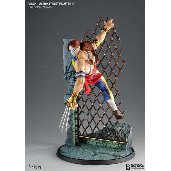 Tsume Art Vega Statue : Ultra Street Fighter IV  - Movie Freaks Collectibles