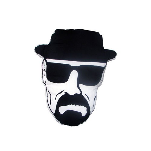 Mezco Breaking Bad Heisenberg Face Almofada com 45cm  - Movie Freaks Collectibles