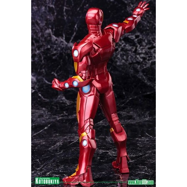 Kotobukiya Marvel Avengers Now Homem de Ferro RED ARTFX+ PVC Statue - Movie Freaks Collectibles