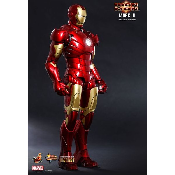 Hot Toys Homem de Ferro Mark III Die Cast - Movie Freaks Collectibles