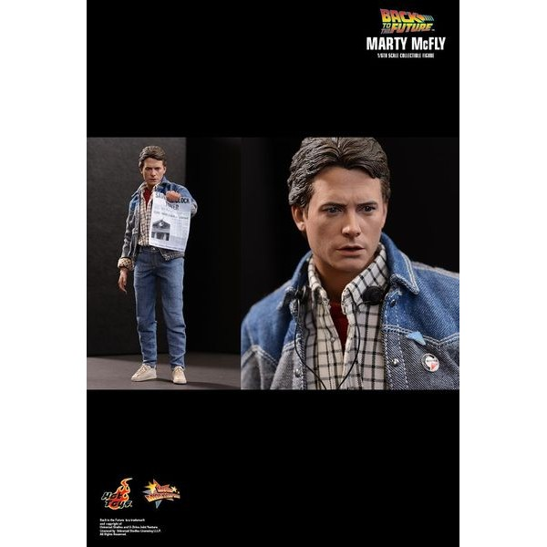 Hot Toys Marty McFly De Volta para o Futuro - Movie Freaks Collectibles