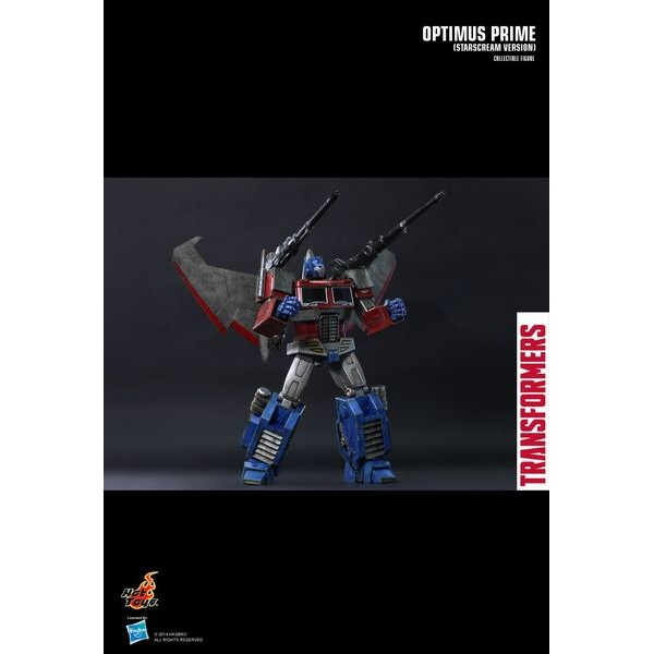 Hot Toys Optimus Prime (Starscream Version) - Movie Freaks Collectibles