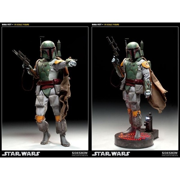 Sideshow Boba Fett Scum and Villainy  - Movie Freaks Collectibles