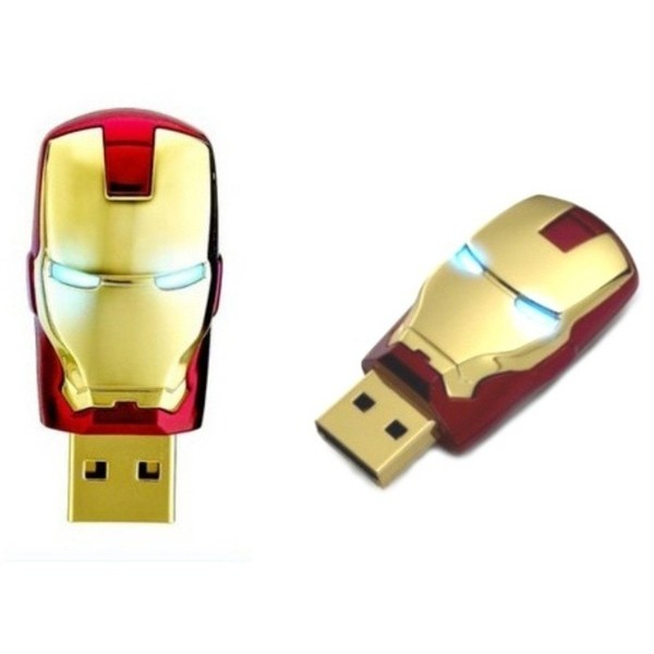Pen Drive Homem de Ferro 8GB  - Movie Freaks Collectibles