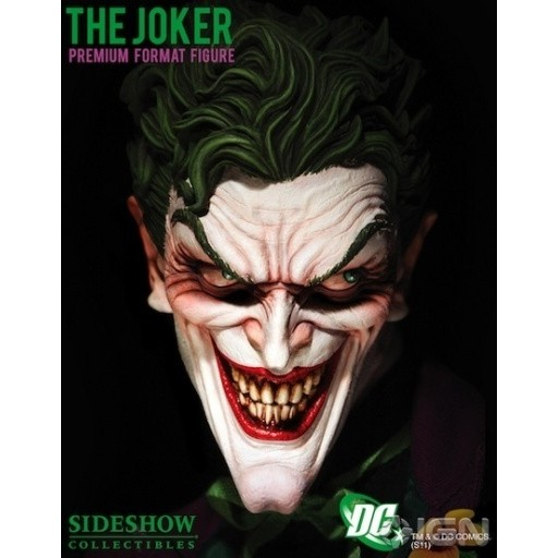 Sideshow Coringa / Joker Premium Format - Movie Freaks Collectibles