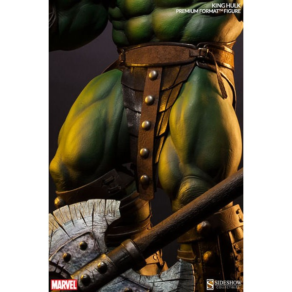 Sideshow King Hulk Premium Format EXCLUSIVE World War Hulk  - Movie Freaks Collectibles