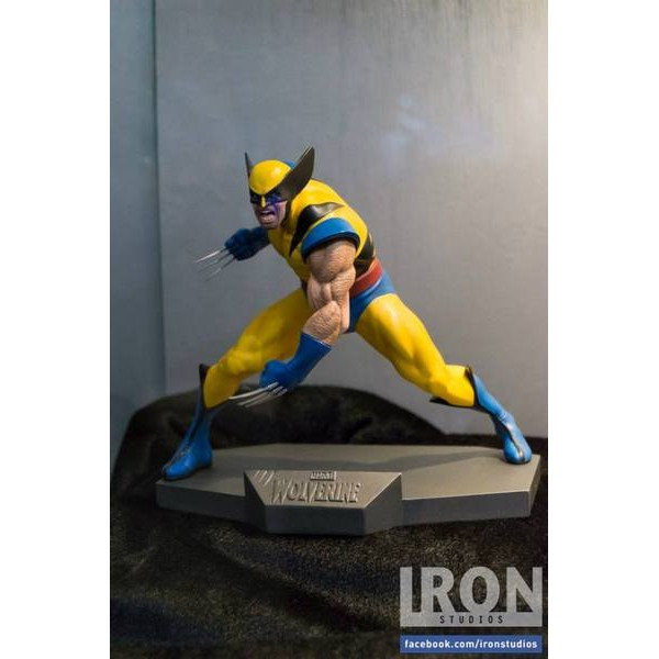 Iron Studios Marvel Comics Wolverine Art Scale 1/10  - Movie Freaks Collectibles