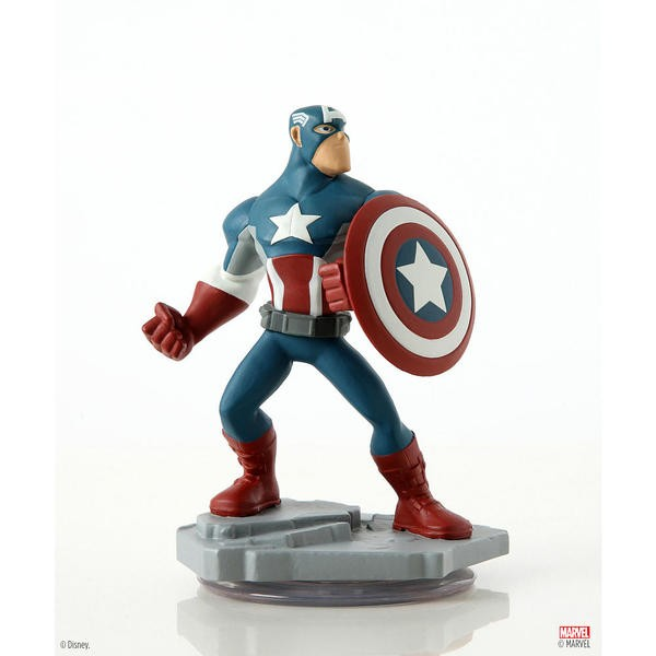 Disney INFINITY: Marvel Super Heroes (2.0 Edition) - Capitão América Figure - Movie Freaks Collectibles