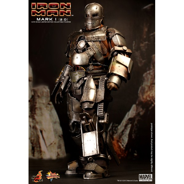 Hot Toys Homem de Ferro Mark I 2.0  - Movie Freaks Collectibles