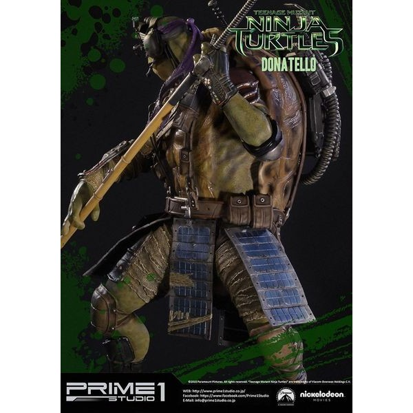 Sideshow Collectibles - Prime 1 TMNT Donatello Polystone Statue  - Movie Freaks Collectibles