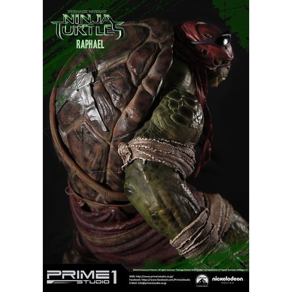 Sideshow Collectibles - Prime 1 TMNT Raphael Polystone Statue  - Movie Freaks Collectibles
