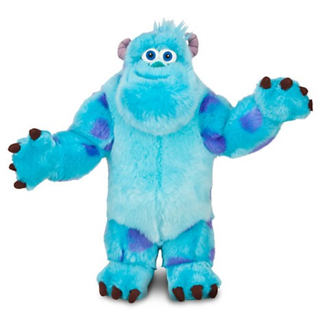 DIsney Store Sulley de Pelúcia - Monsters University - Monstros - 38cm  - Movie Freaks Collectibles