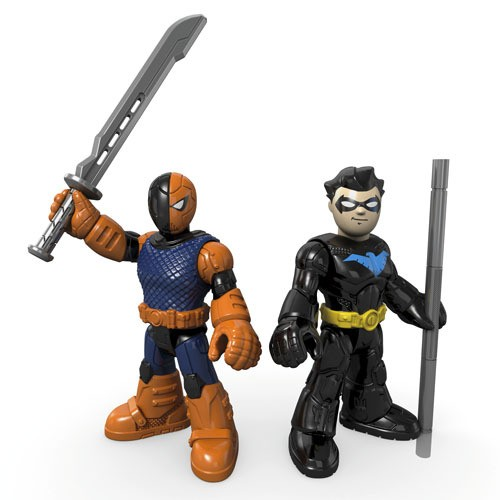 Imaginext® Justice League DC Comics Slade (Deathstroke) & Nightwing  - Movie Freaks Collectibles