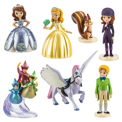 Disney Store Sofia the First Figure Play Set - 1  - Movie Freaks Collectibles